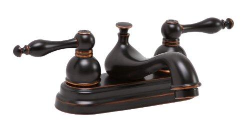Lead Free Centerset (Premier Faucet 119266 Wellington Watersense Lead Free Centerset Two-Handle Lavatory Faucet, Parisian Bronze by Premier Faucet)