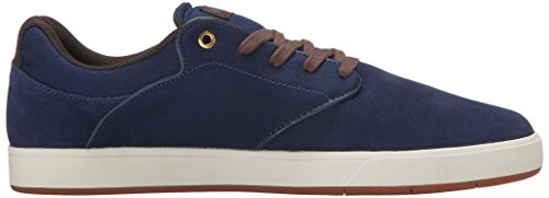 DC Men's Mikey Taylor Skate Shoe, Black/Gum, 10.5 M US Navy/Gum