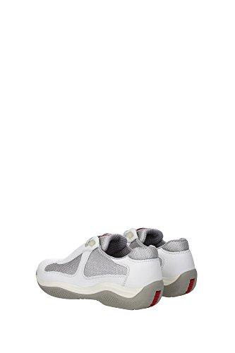 PR3163TALCO Prada Sneakers Femme Cuir Blanc Blanc