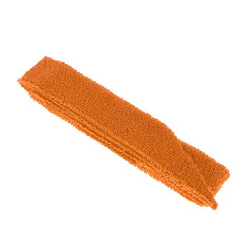 CUTICATE 1 Stücke Anti Slip Schläger Handtuch Über Griff Tennis Badminton Squash Griff Band - Orange