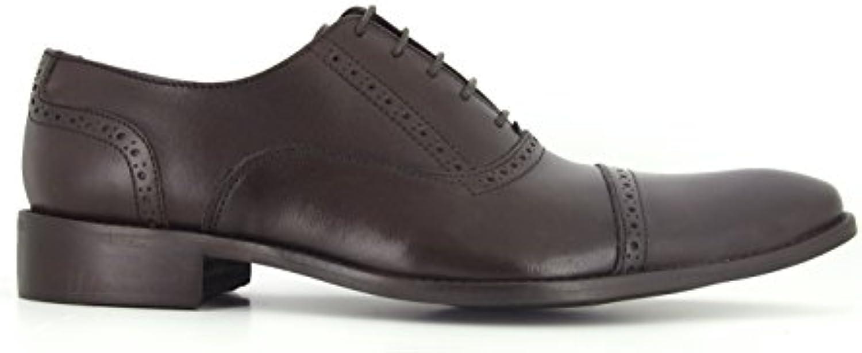 Richelieu J.Bradford Cuero Marron  Zapatos de moda en línea Obtenga el mejor descuento de venta caliente-Descuento más grande