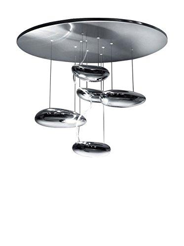 Artemide Mercury Mini Deckenleuchte LED, Stahl hochglänzend