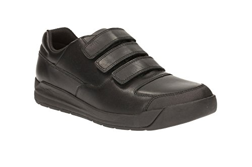 clarks-boys-school-monte-lite-bl-leather-shoes-in-black-narrow-fit-size-5