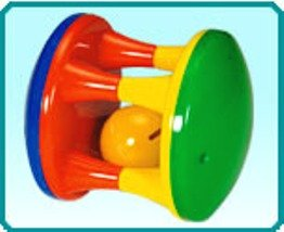 TOY MART ToyMart baby Rattle Roller For Infants, Musical with Non Toxic Material