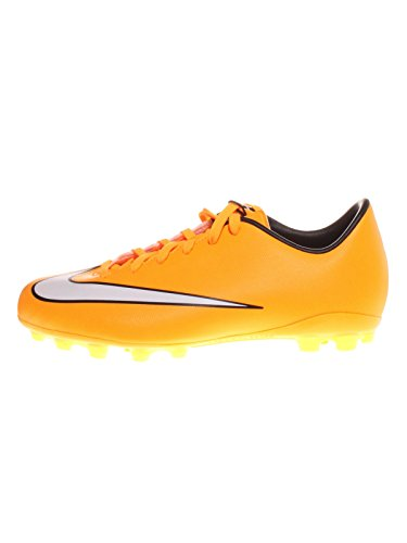 Nike Jr Mercurial, Chaussures de Football Compétition garçon Orange (LASER ORANGE/WHITE-BLACK-VOLT 800)