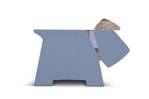 Stay! Doggy Book Rest Grey Plaid