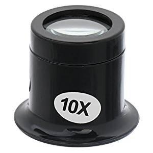 Preisvergleich Produktbild veroda 10x Juwelier Lupe Lupe Eye Lupe für Uhren Reparatur