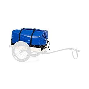 31cqBPbgsWL. SS300 Klarfit Companion - Rimorchio per Bici/a Mano e Borsa di Trasporto, Superficie Rimorchio: 42 x 63 cm (LxP)/ca. 50 L…