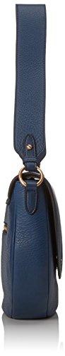 JOOP - Nature Grain Rhea Shoulderbag Lhf, Borsa a spalla Donna Blau (Blue)