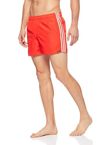 adidas Herren 3S SH VSL Swimsuit hi-Res red s18/Off White S