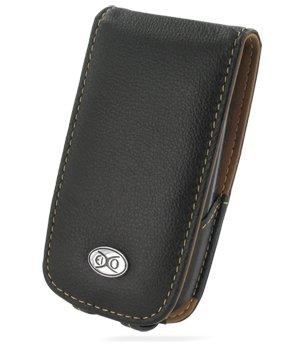 EIXO Luxus Ledertasche für HTC Touch 3G Flipstyle, Flip-Style Lederhülle, Ledercase, Lederetui, Case, Etui 100% passend, PDA, Pocket PC Htc Touch Pocket Pc