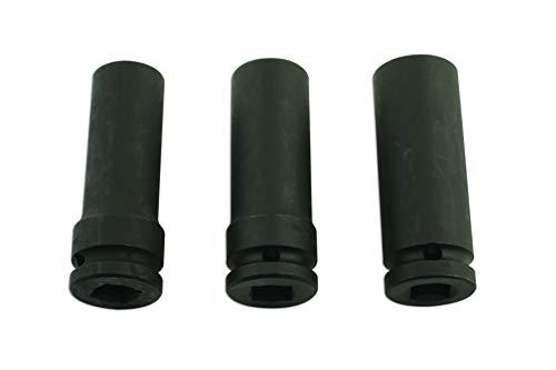 Laser 5965.0 Löser für beschädigte Radmuttern, 3/8 Zoll-Antrieb, 3-Teilig