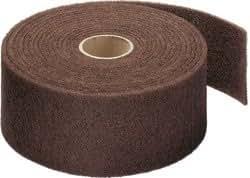 Vliesrolle - NRO 400 - für Metall, Holz, 150 x 10000 mm, Medium, Rotbraun