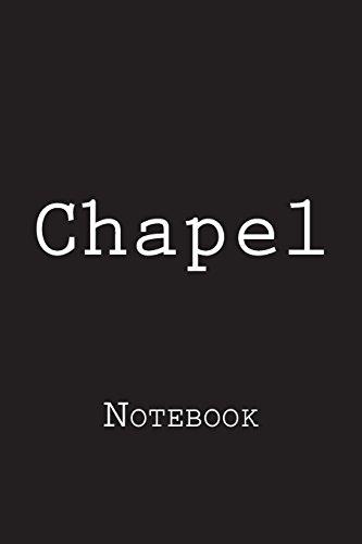 Chapel: Notebook por Wild Pages Press