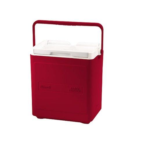 Coleman 18Qt Passive Kühlbox, Hartschalenhülle, rot/weiß -