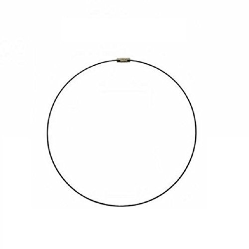 eeddoo® Halsreifen - metallic - BN - Brown / Braun (Halskette Edelstahlschmuck für Damen und Herren) (Bn Mädchen)
