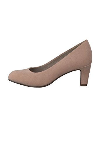 Tamaris Schuhe 1-1-22454-38 bequeme Damen Pumps, Sommerschuhe für modebewusste Frau, Rose