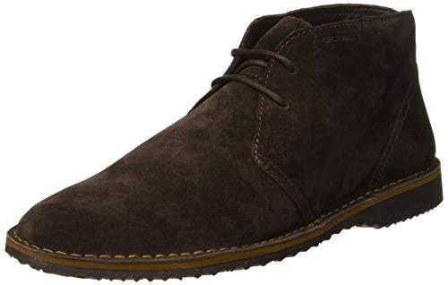 Geox u zal a, stivali desert boots uomo, marrone (coffee c6009), 42 eu