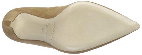 Strenesse Pump Lene, Chaussures à talons - Avant du pieds couvert femme Beige - Beige (cappuccino 620)