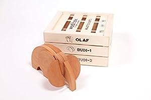 Wodibow- Mastodonte Olaf, Juguete de Madera (WOD Y Otros MAS 0010100)