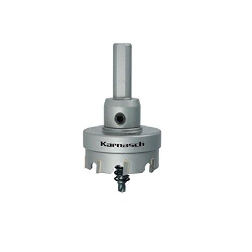 HM Lochsäge Lochkreissäge für Stahl Edelstahl GFK NE-Metalle Easy-Cut 5 mit Schaft, Zentrierbohrer, Auswurffeder, Schnitttiefe 12mm, Ø d=23mm