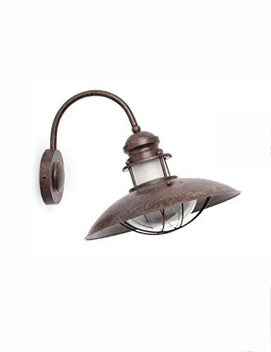 lampe murale Lampe de Poche intérieure à économie d'énergie - Style Européen Fer Simple Personnalité Rétro Lampadaire Living Room Restaurant Étude Applique - 1 lumière