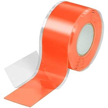 1x 3m ruban en silicone auto-agrippante eau, air Poppstar 38 mm de large ruban adh/ésif en silicone rouge ruban isolant et bande d/étanch/éit/é