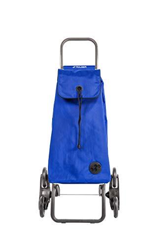 ROLSER Treppensteiger Logic RD6 / I-MAX MF, IMX092, 47,5 x 39,5 x 107 cm, 43 Liter, 40 kg Tragkraft, blau