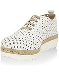 Zapato plano En Piel Blanco