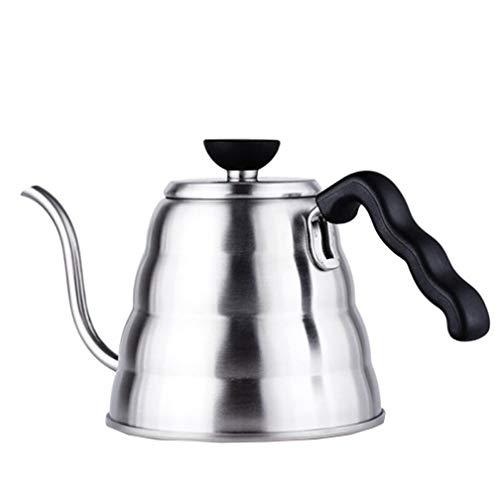 SZP Kaffeekanne Edelstahl Langen Mund Feinen Mund 1000Ml Feinen Mundtopf Tropfen Kaffee Teekanne Utensilien