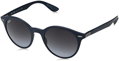 Ray-Ban Unisex-Erwachsene 0RB4296 63318G 51 Sonnenbrille, Matte Dark Blue/Greygradientdarkgrey