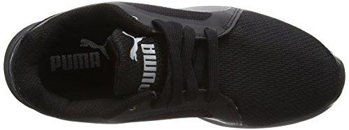 Puma St Trainer Evo Tech Unisex-Erwachsene Low-Top Schwarz (black-black 03)