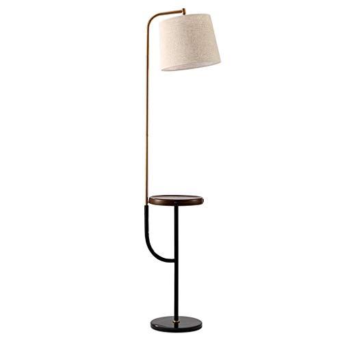 Lampadaire Lampe De Table De Chambre À Coucher De Salon Lampe De Table Verticale Américaine Simple Lampe De Lecture D'étude Lampadaire Personnalisé
