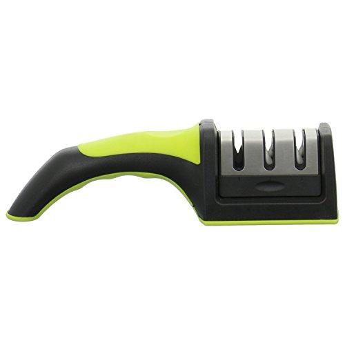 frimi Messerschärfer - Küchenmesser schärfen wie ein Profi (lime/schwarz)