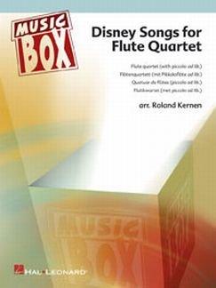 DISNEY SONGS - arrangiert für vier Stimmen - Querflöte [Noten / Sheetmusic] Komponist: SHERMAN RICHARD