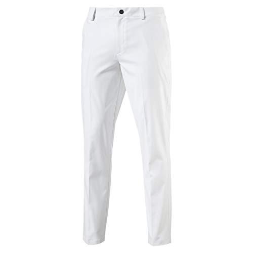 (Puma Herren Tailored Tech Pants Hose, Bright White, W32/L34)