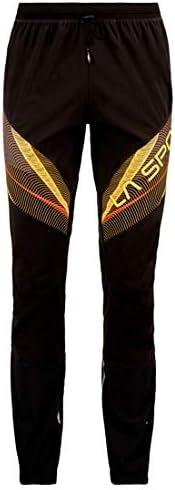 La Sportiva Dedication Pant M pantaloni, uomo, UOMO, L10999100, Nero Nero Nero giallo, L   Negozio famoso    Imballaggio elegante e stabile  525fbf