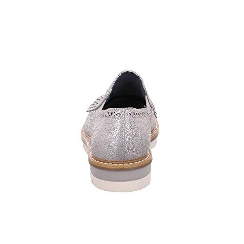 4ef939c473e0bb Tamaris Damen 24701 Slipper Silber