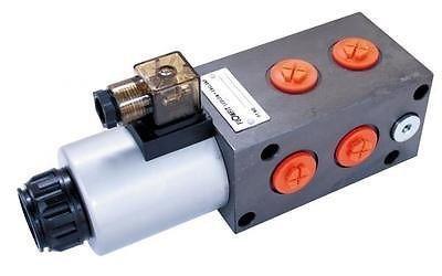 Preisvergleich Produktbild flowfit 6Wege Magnetventil Umsteller, 3/10,2cm BSP Port-Größe, 12VDC, 1/10,2cm BSP Drain Port, 80l/min, 315bar max Druck