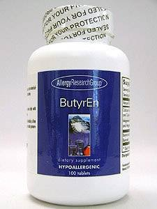 ButyrEn, 100 Tablets - Allergy Research Group - Qty 1 -