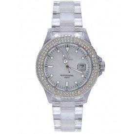 Toy Watch Giocattolo Orologio Bianco Madre di Pearl Quadrante Unisex Orologio 1013WHP