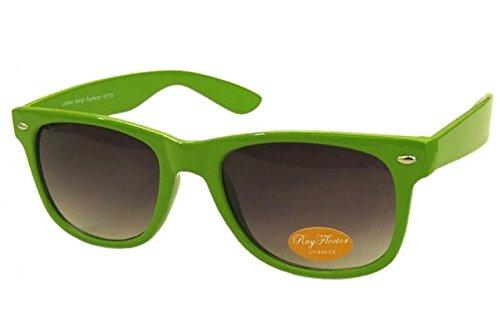 Grün Retro Fashion Designer Geek Nerd NHS Big Rave Party Brille groß Wayfarer Hot (groß)