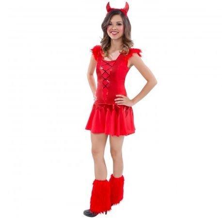 Mädchen Jugendlich Teufel (Kostüme Erde Themen)