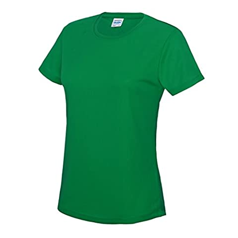 Awdis Womens Adult Performance S/S Cool T-shirt Kelly Green 10
