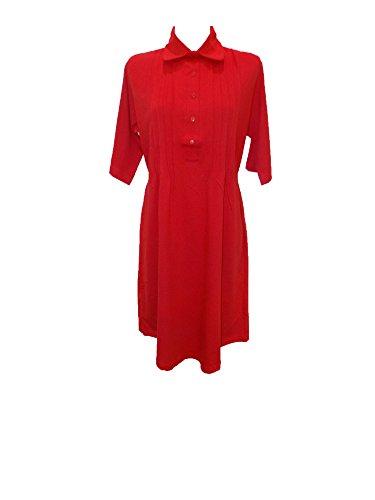 Normann Copenhagen - Chemise de nuit - Femme Rouge - Rouge