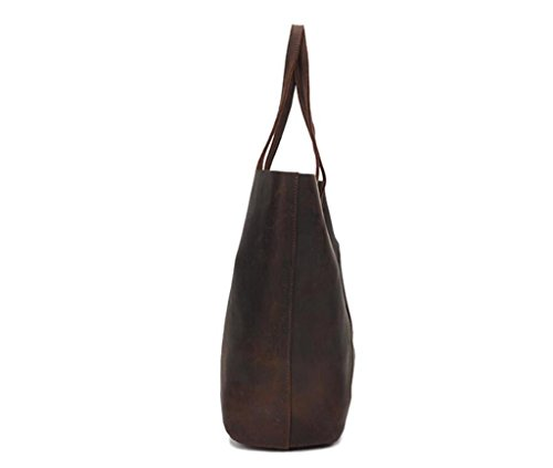 66d9a860d978b ... SHFANG Lady Leder Retro Tote   Handtasche   Umhängetasche   alte Kind  Tasche   Handtasche + ...