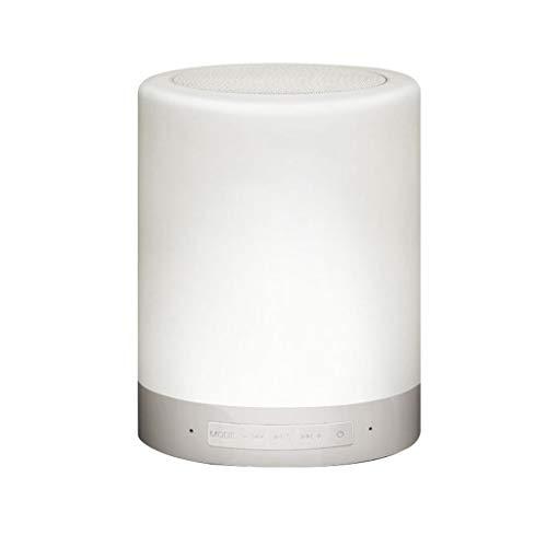 Meipai Bluetooth Lautsprecher Lampe Mit Wlan Kontakt Dimmbar Tabelle Nachtlicht Tf Card Aux Unterstützt Die Hände Frei, Lautsprecher