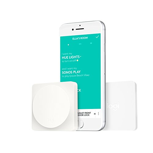 Logitech POP Smart Button Kit for One-Touch Control of Smart Home Devices in Any Room (Lutron Beleuchtung)