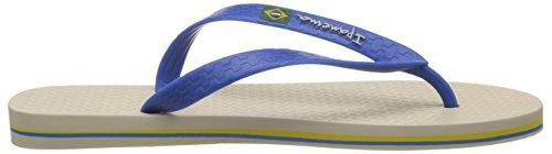 Ipanema Herren Classica Brasil Ii Hom Zehentrenner Beige (Beige/Blue)