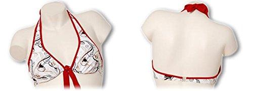 eleMar Damen Bikini-Top, Bügel, C-Cup, 34-46, NEU 200 schwarz